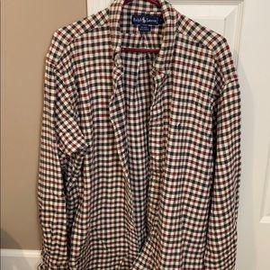 Ralph Lauren flannel long sleeve shirt